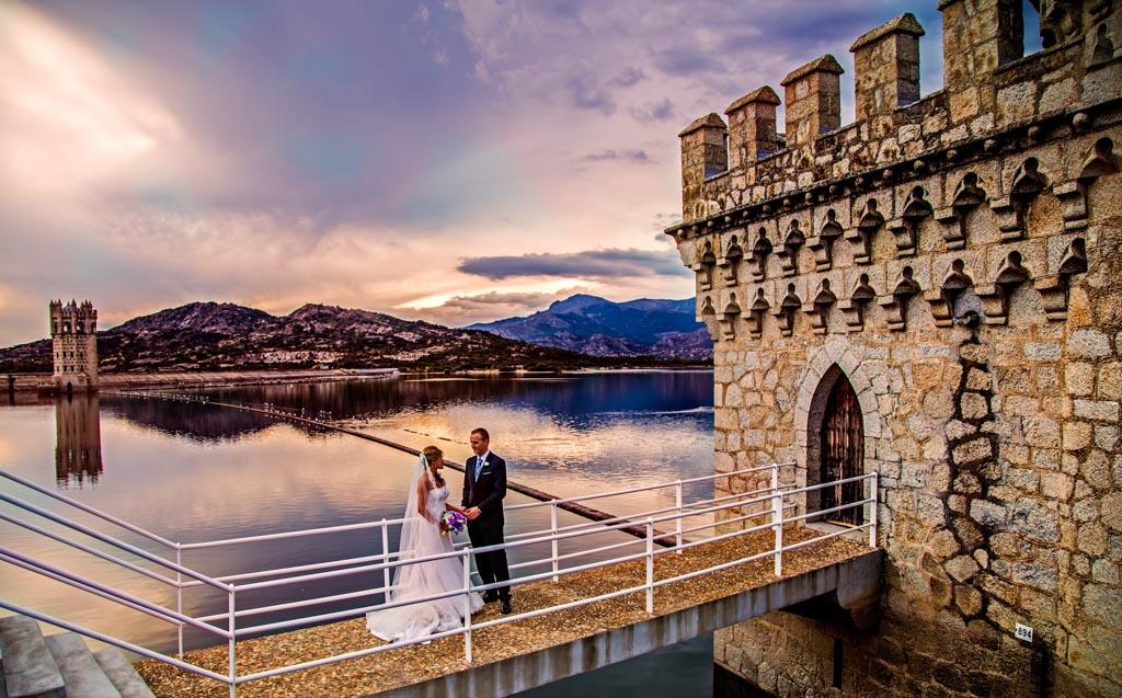 fotochita - fotografia de boda Madrid- embalse guadarrama- sesion fotografica
