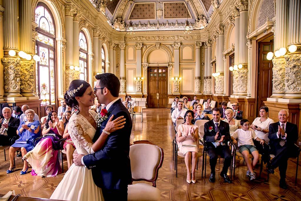 fotochitabodas - fotografia de boda Valladolid - boda ayuntamiento - plaza mayor
