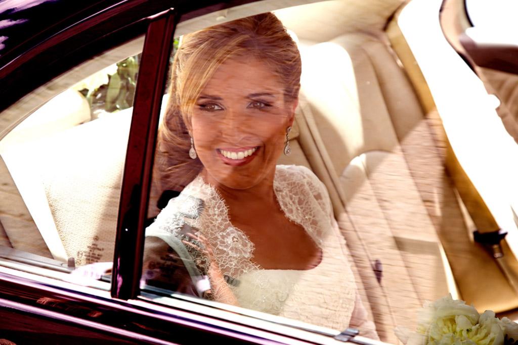 fotochitabodas - fotografia de boda Valladolid- coche novia